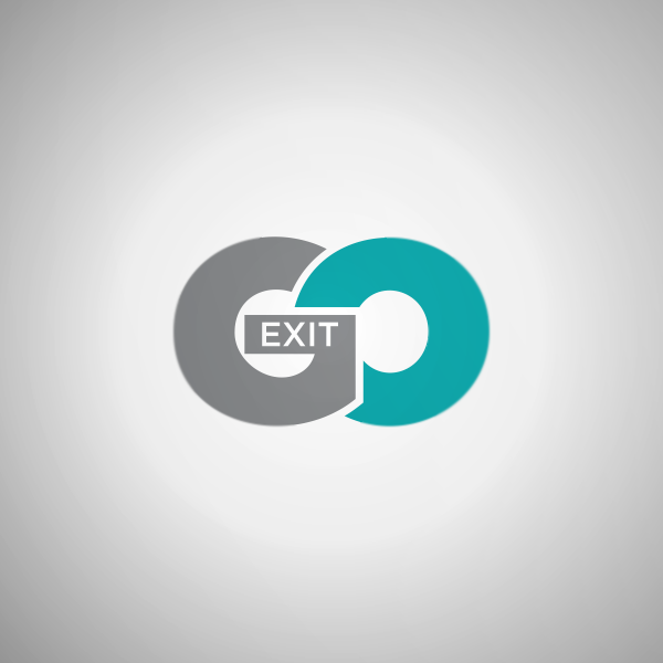 Logo Design by Private User - Entry No. 12 in the Logo Design Contest GoExit Logo Design.