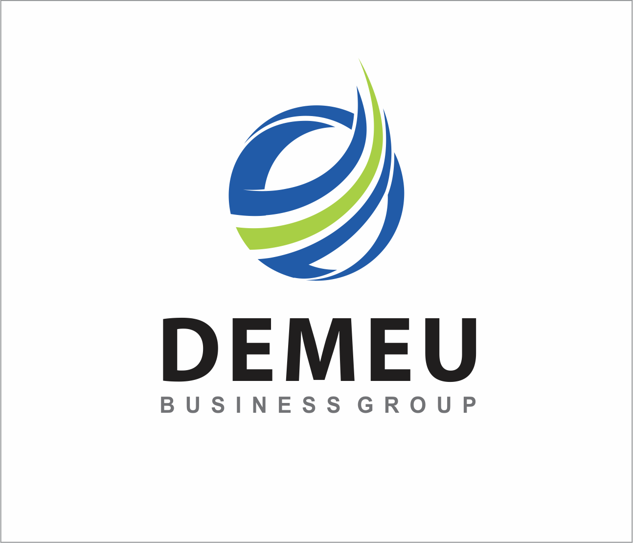 Logo Design by Armada Jamaluddin - Entry No. 162 in the Logo Design Contest Captivating Logo Design for DEMEU Business Group.