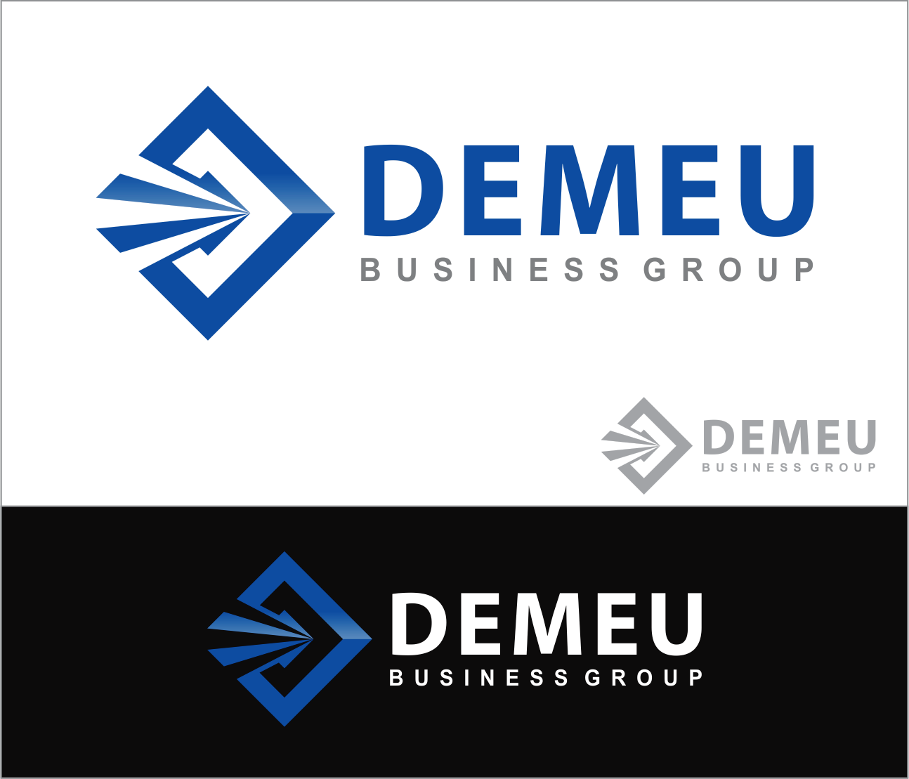 Logo Design by Armada Jamaluddin - Entry No. 163 in the Logo Design Contest Captivating Logo Design for DEMEU Business Group.