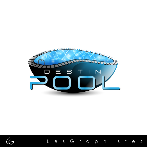 Logo design contests fun logo design for destin pools design no 10 by les graphistes - Swimming pool logo design ...