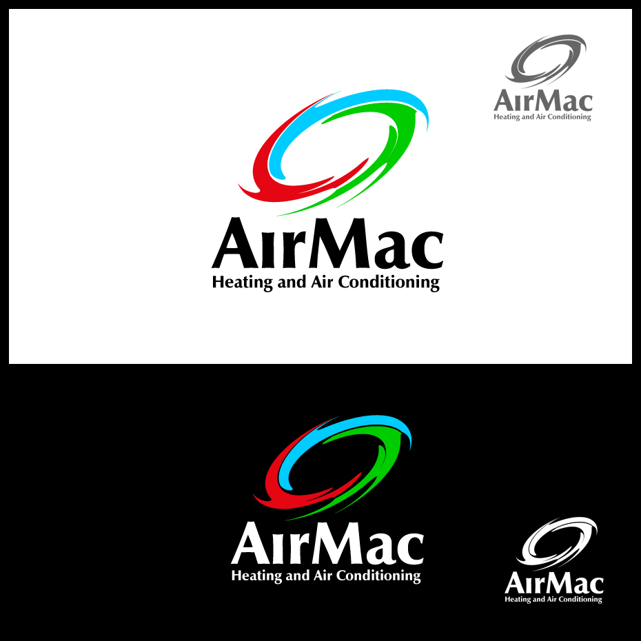 Logo Design by pixdesign - Entry No. 49 in the Logo Design Contest Unique Logo Design Wanted for Air Mac.