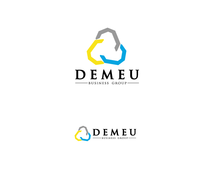 Logo Design by simply29 - Entry No. 165 in the Logo Design Contest Captivating Logo Design for DEMEU Business Group.