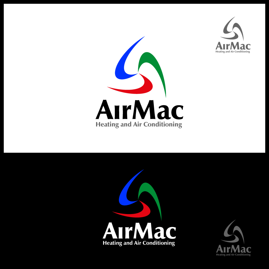Logo Design by pixdesign - Entry No. 50 in the Logo Design Contest Unique Logo Design Wanted for Air Mac.