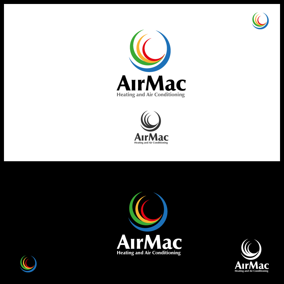 Logo Design by pixdesign - Entry No. 52 in the Logo Design Contest Unique Logo Design Wanted for Air Mac.