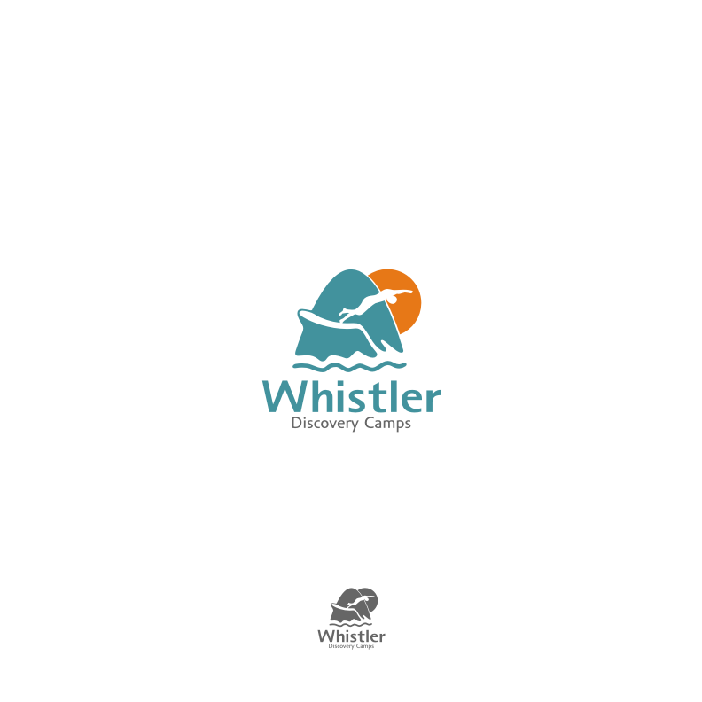 Logo Design by graphicleaf - Entry No. 176 in the Logo Design Contest Captivating Logo Design for Whistler Discovery Camps.