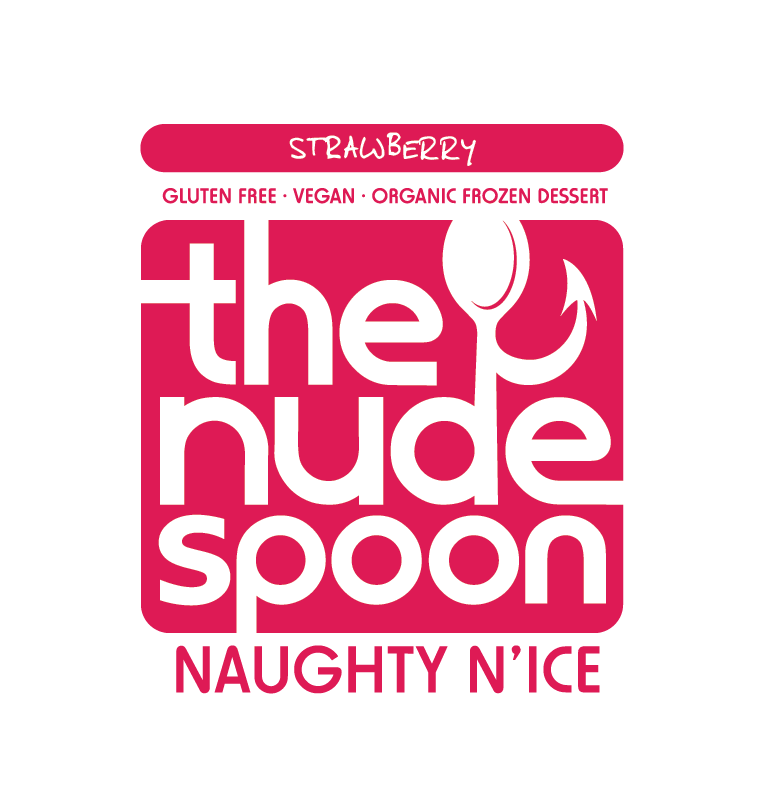 Logo Design by Christina Evans - Entry No. 32 in the Logo Design Contest Captivating Logo Design for The Nude Spoon.