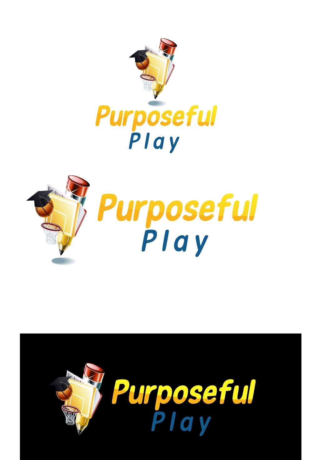 Logo Design by Private User - Entry No. 45 in the Logo Design Contest Purposeful PLAY Logo Design.