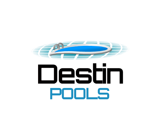 Logo Design by Ismail Adhi Wibowo - Entry No. 15 in the Logo Design Contest Fun Logo Design for Destin Pools.