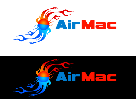 Logo Design by Ismail Adhi Wibowo - Entry No. 53 in the Logo Design Contest Unique Logo Design Wanted for Air Mac.