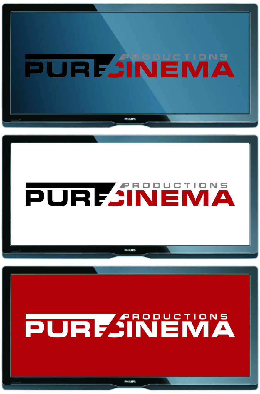 Logo Design by Ngepet_art - Entry No. 6 in the Logo Design Contest Imaginative Logo Design for Pure Cinema.