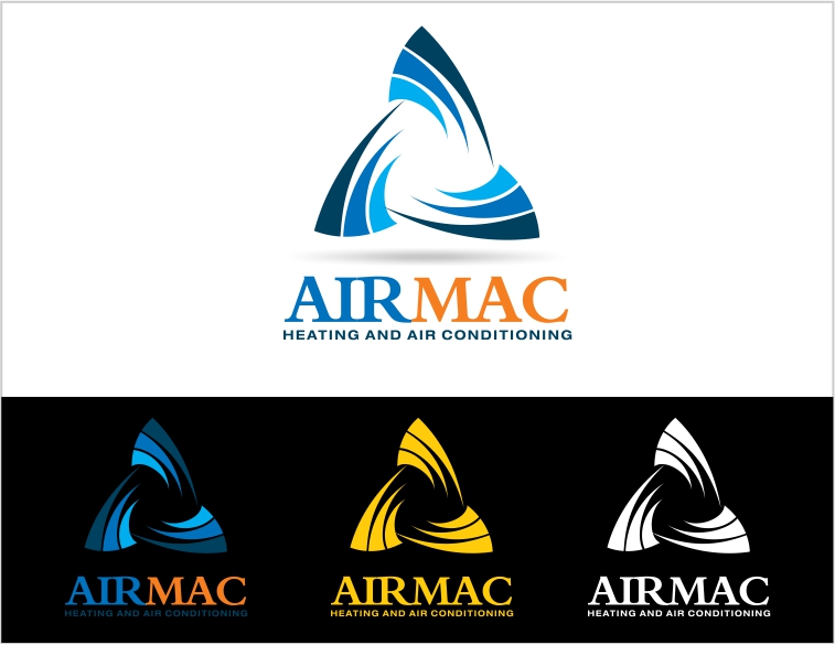 Logo Design by Private User - Entry No. 55 in the Logo Design Contest Unique Logo Design Wanted for Air Mac.