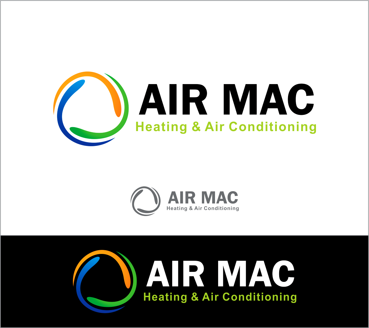 Logo Design by Armada Jamaluddin - Entry No. 62 in the Logo Design Contest Unique Logo Design Wanted for Air Mac.