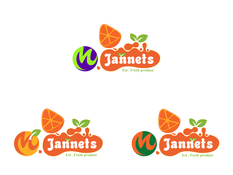 Logo Design by Kishor Patil - Entry No. 31 in the Logo Design Contest Inspiring Logo Design for M. Jannets.