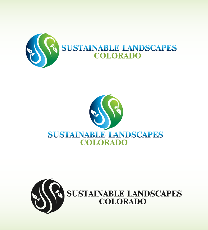Logo Design by Private User - Entry No. 27 in the Logo Design Contest Imaginative Logo Design for Sustainable Landscapes - Colorado.