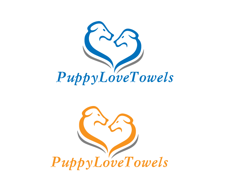 Logo Design by Private User - Entry No. 10 in the Logo Design Contest Artistic Logo Design for Puppy Love Towels.