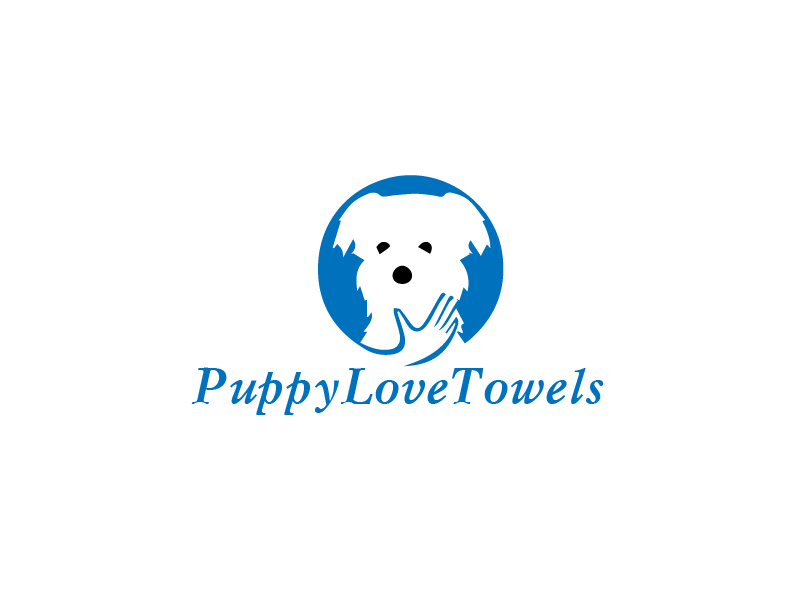 Logo Design by Private User - Entry No. 11 in the Logo Design Contest Artistic Logo Design for Puppy Love Towels.