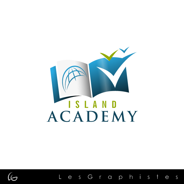 Logo Design by Les-Graphistes - Entry No. 37 in the Logo Design Contest New Logo Design for Island Academy.