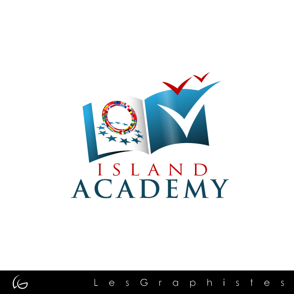 Logo Design by Les-Graphistes - Entry No. 38 in the Logo Design Contest New Logo Design for Island Academy.