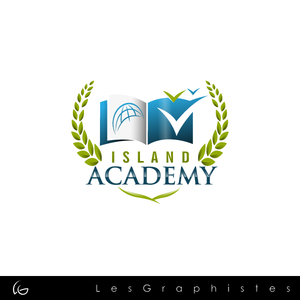 Logo Design by Les-Graphistes - Entry No. 39 in the Logo Design Contest New Logo Design for Island Academy.