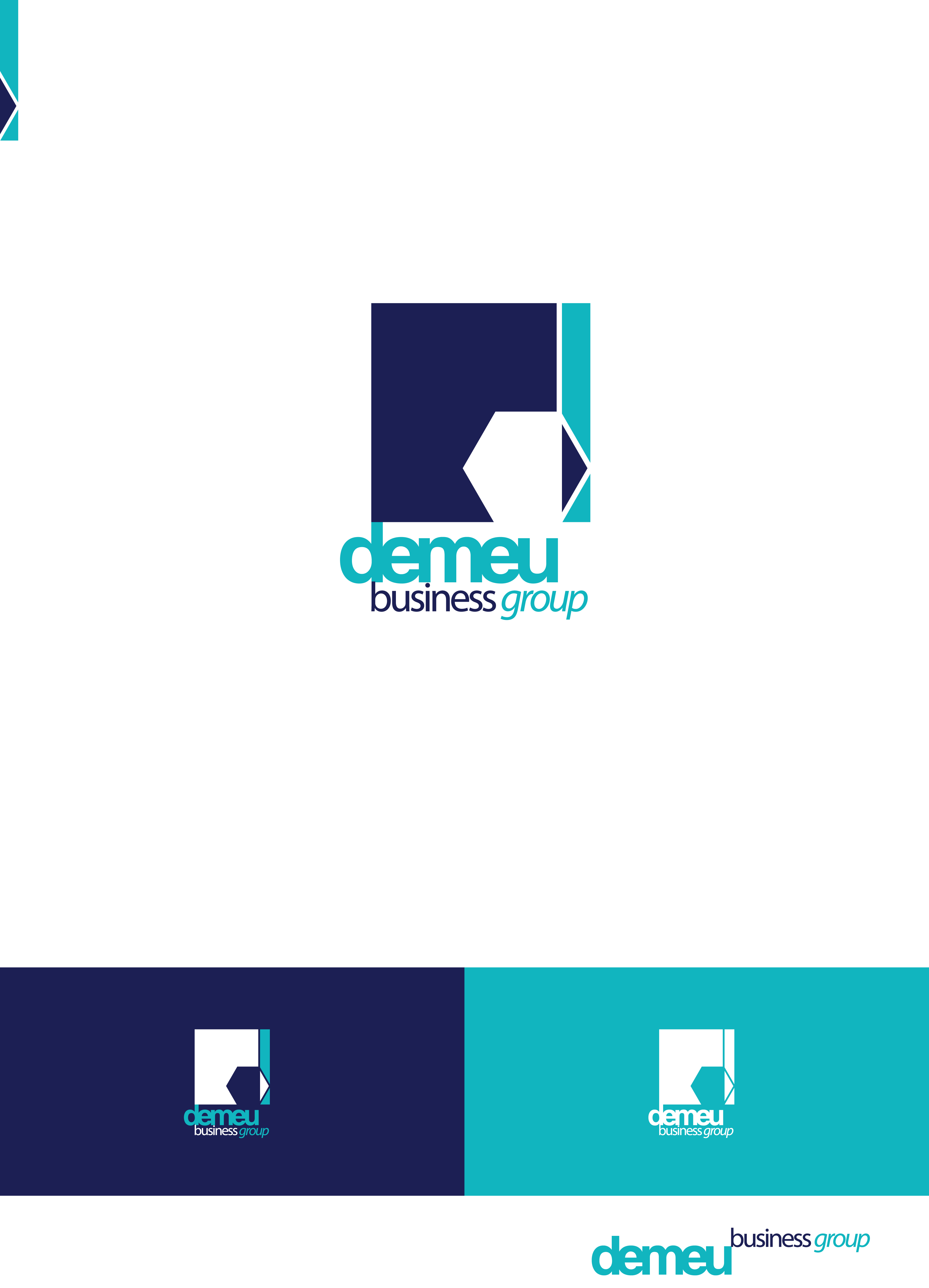Logo Design by Private User - Entry No. 174 in the Logo Design Contest Captivating Logo Design for DEMEU Business Group.