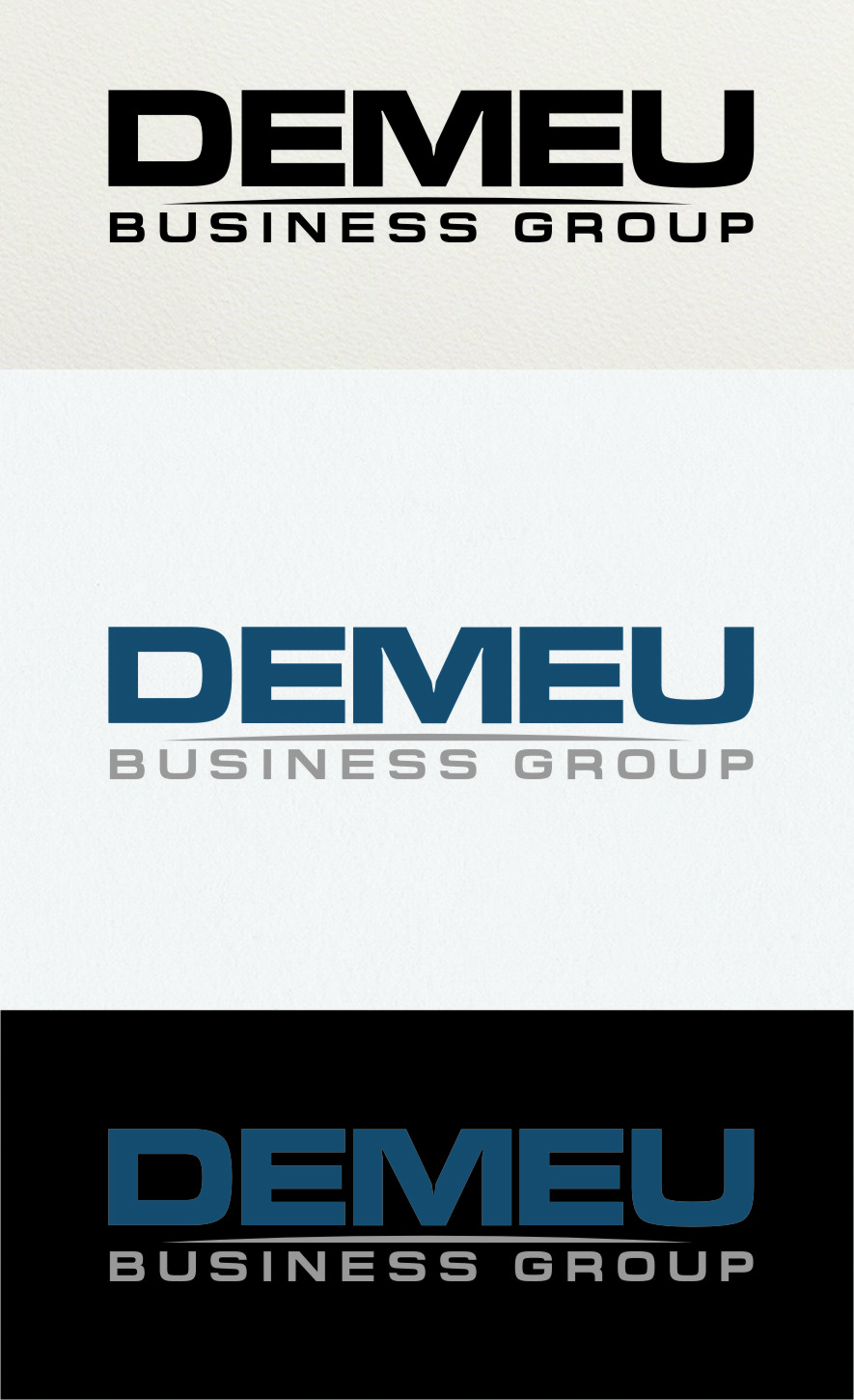 Logo Design by RasYa Muhammad Athaya - Entry No. 177 in the Logo Design Contest Captivating Logo Design for DEMEU Business Group.
