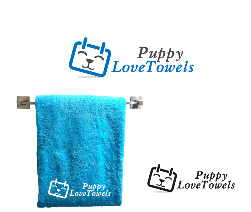 Logo Design by Private User - Entry No. 12 in the Logo Design Contest Artistic Logo Design for Puppy Love Towels.