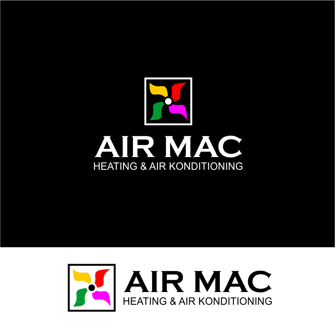 Logo Design by Agus Martoyo - Entry No. 70 in the Logo Design Contest Unique Logo Design Wanted for Air Mac.