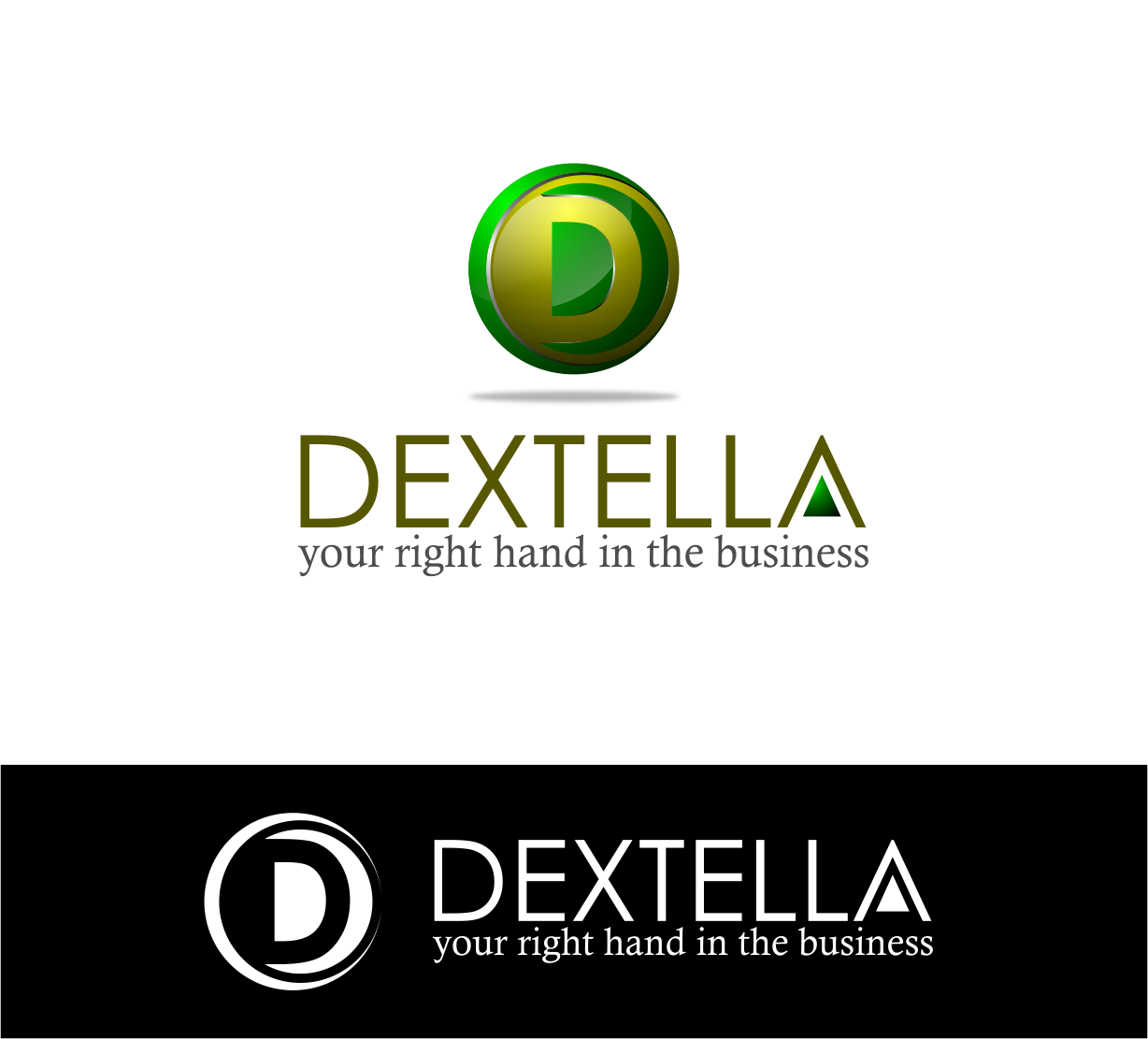 Logo Design by Agus Martoyo - Entry No. 49 in the Logo Design Contest Unique Logo Design Wanted for Dextella s.r.o..