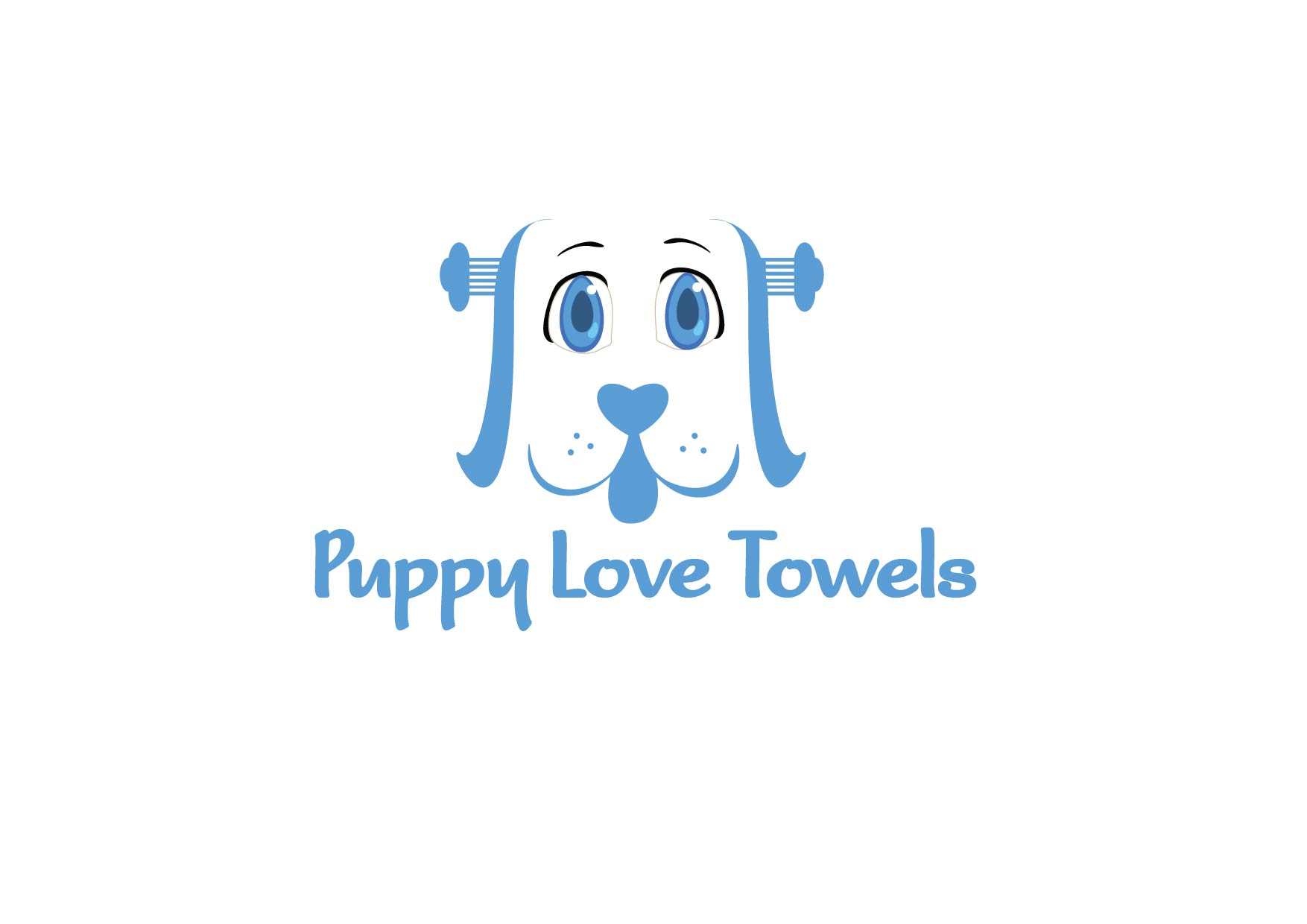 Logo Design by Yash Sindhav - Entry No. 14 in the Logo Design Contest Artistic Logo Design for Puppy Love Towels.
