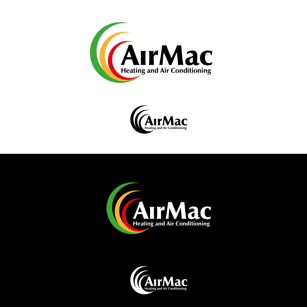 Logo Design by pixdesign - Entry No. 77 in the Logo Design Contest Unique Logo Design Wanted for Air Mac.