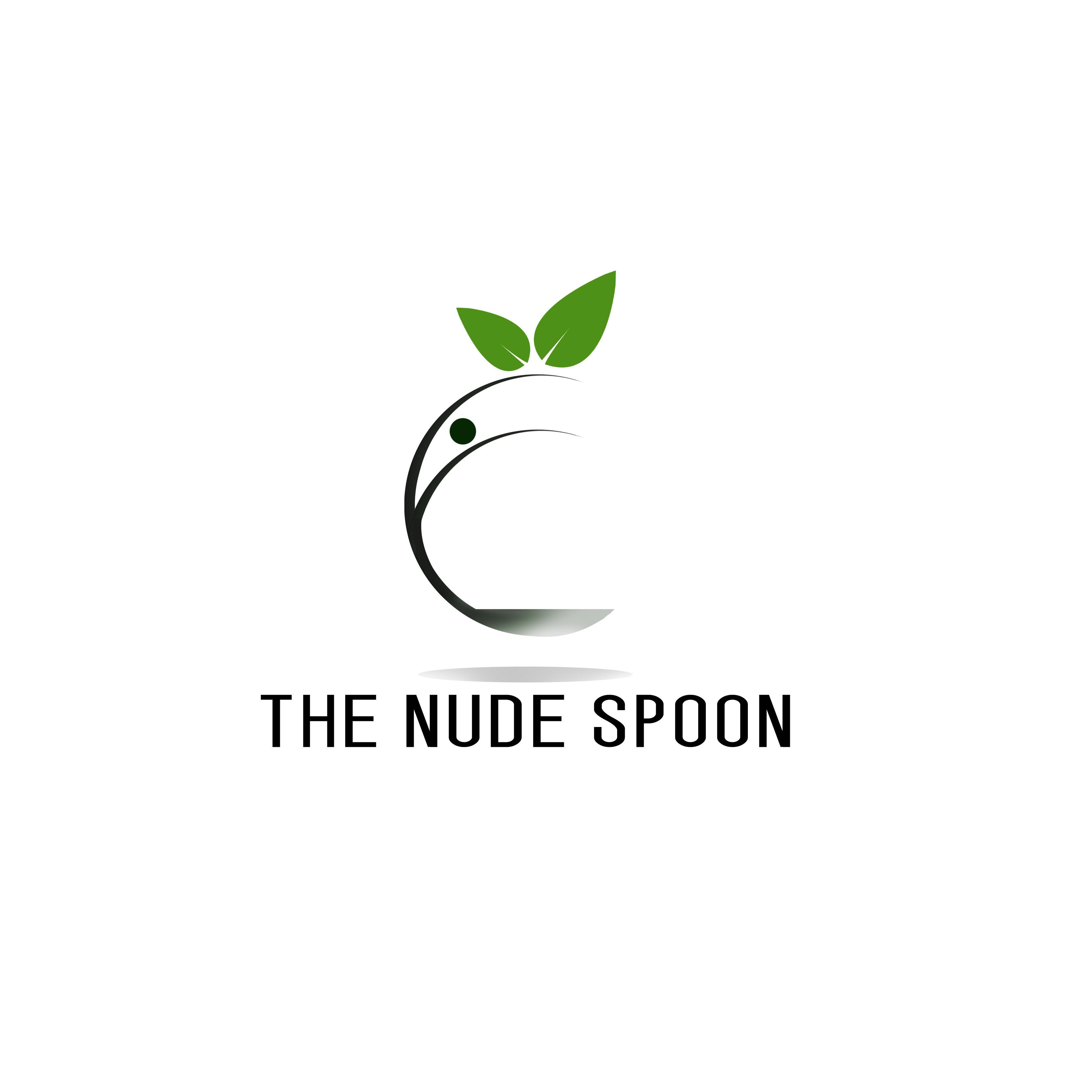 Logo Design by Allan Esclamado - Entry No. 41 in the Logo Design Contest Captivating Logo Design for The Nude Spoon.