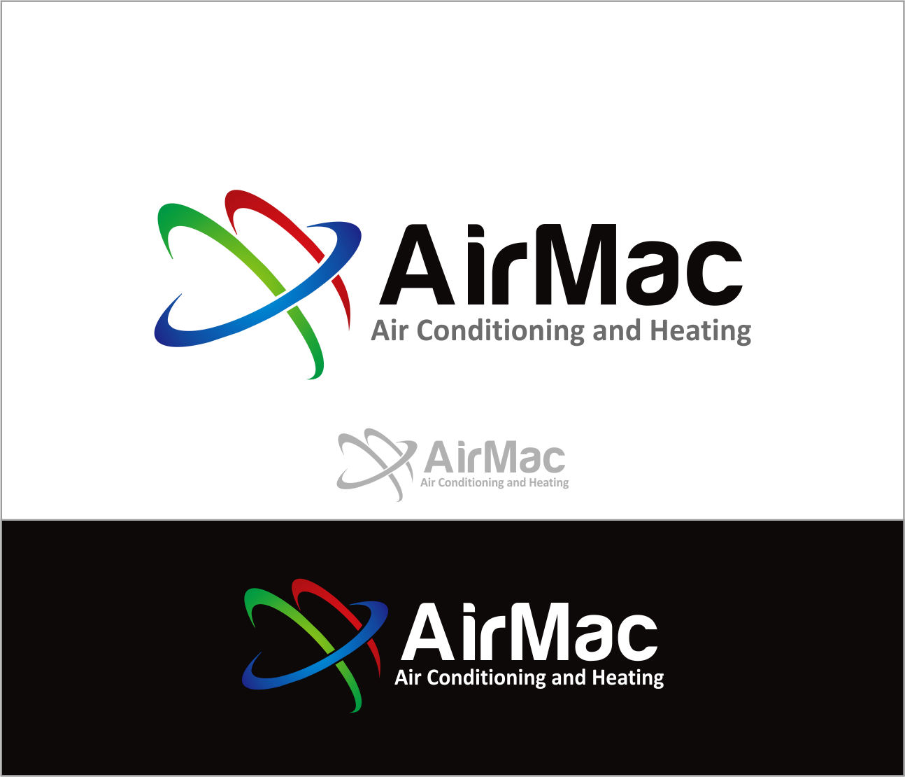 Logo Design by Armada Jamaluddin - Entry No. 80 in the Logo Design Contest Unique Logo Design Wanted for Air Mac.