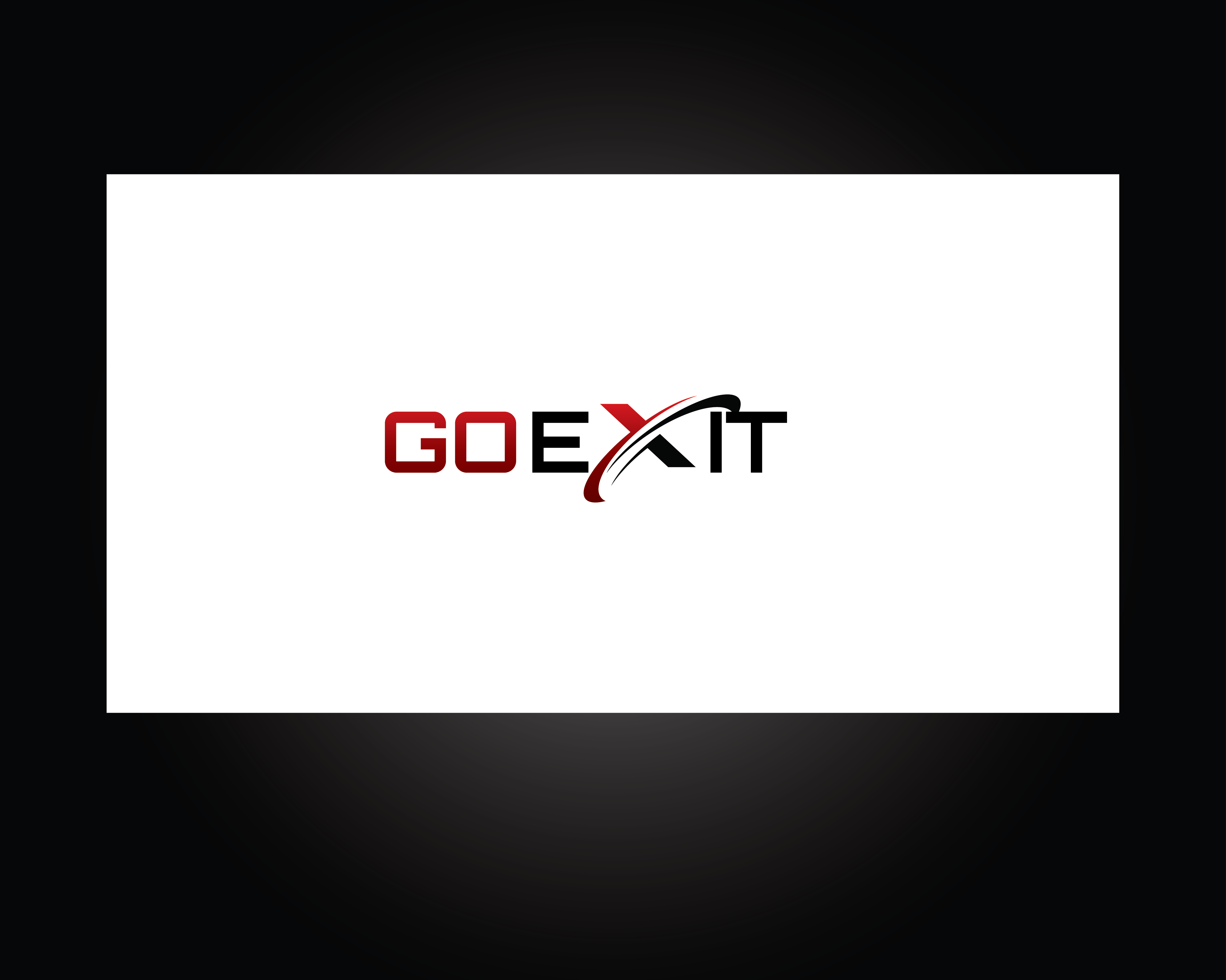Logo Design by roc - Entry No. 15 in the Logo Design Contest GoExit Logo Design.