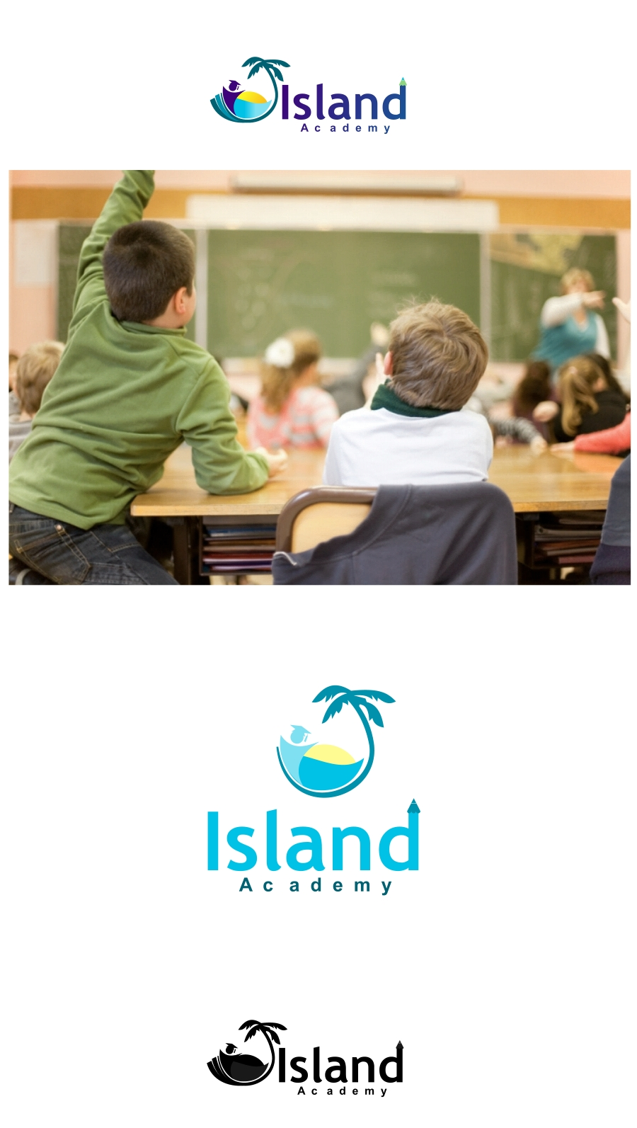 Logo Design by Private User - Entry No. 55 in the Logo Design Contest New Logo Design for Island Academy.