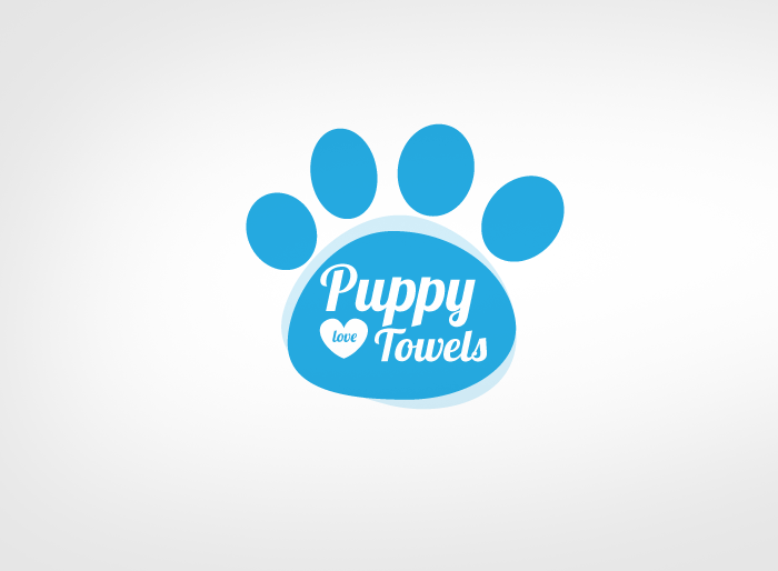 Logo Design by Jan Chua - Entry No. 16 in the Logo Design Contest Artistic Logo Design for Puppy Love Towels.