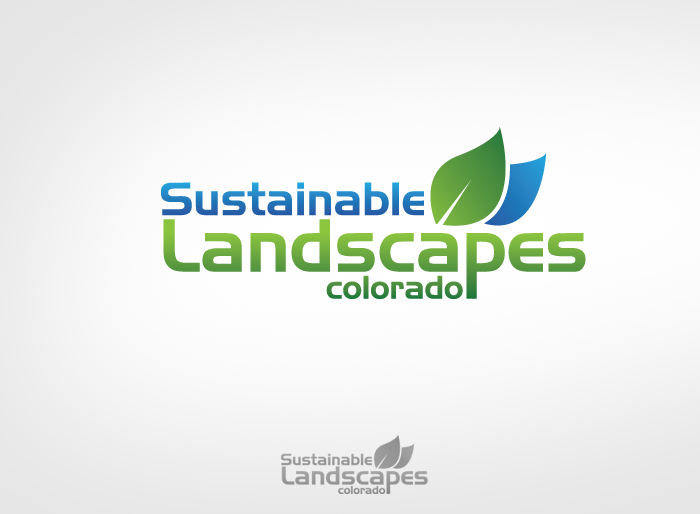 Logo Design by Jan Chua - Entry No. 41 in the Logo Design Contest Imaginative Logo Design for Sustainable Landscapes - Colorado.