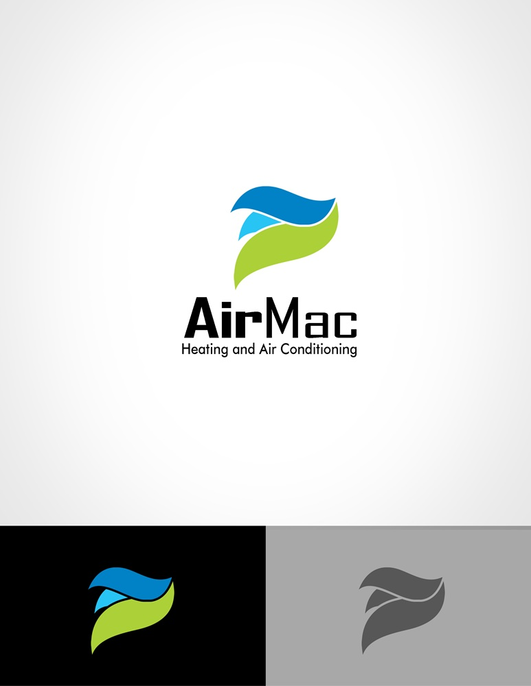 Logo Design by Respati Himawan - Entry No. 93 in the Logo Design Contest Unique Logo Design Wanted for Air Mac.