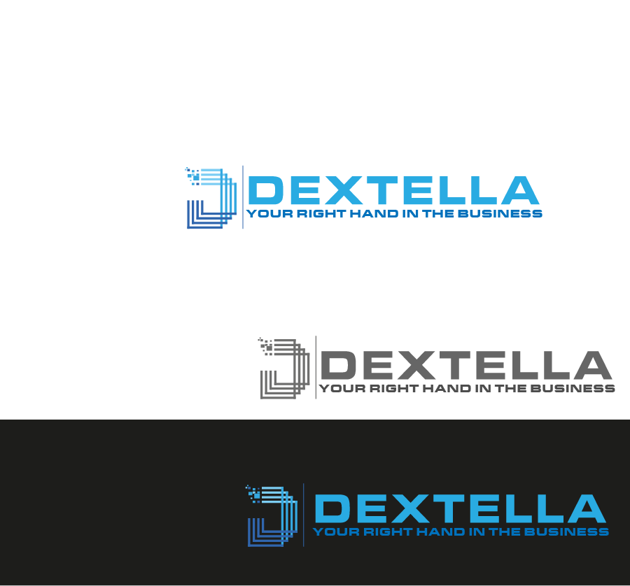 Logo Design by Private User - Entry No. 62 in the Logo Design Contest Unique Logo Design Wanted for Dextella s.r.o..