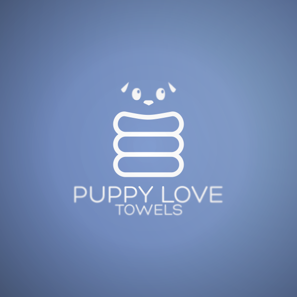 Logo Design by Private User - Entry No. 18 in the Logo Design Contest Artistic Logo Design for Puppy Love Towels.