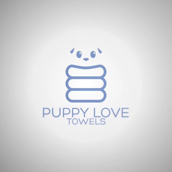 Logo Design by Private User - Entry No. 19 in the Logo Design Contest Artistic Logo Design for Puppy Love Towels.