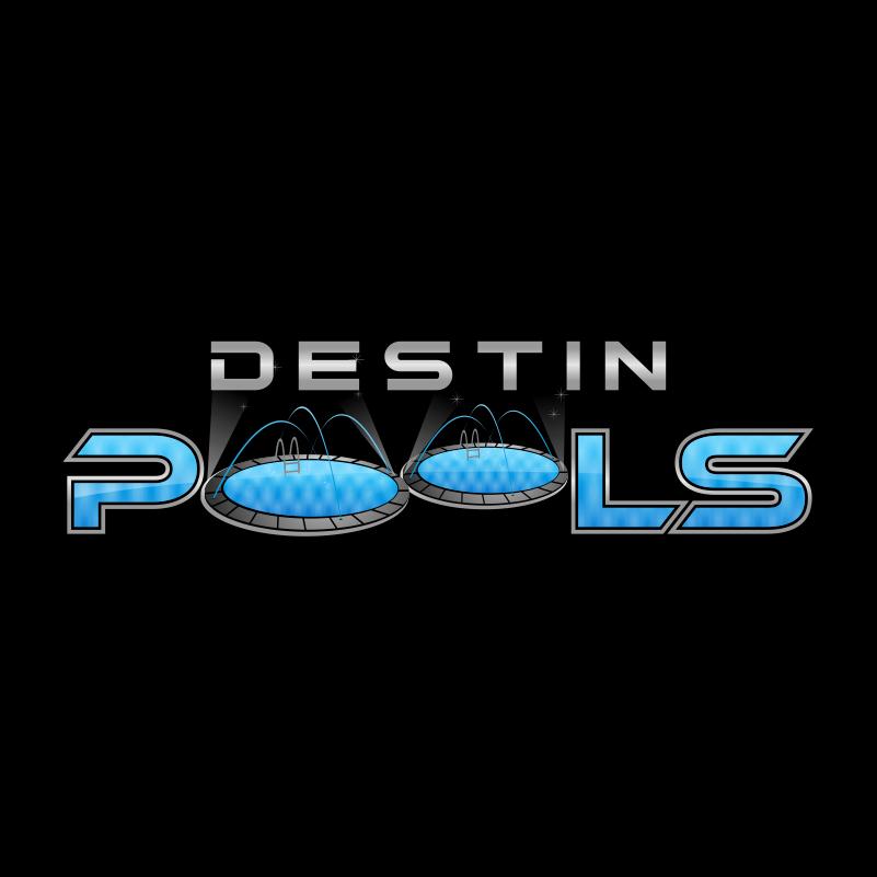 Logo Design by kotakdesign - Entry No. 24 in the Logo Design Contest Fun Logo Design for Destin Pools.