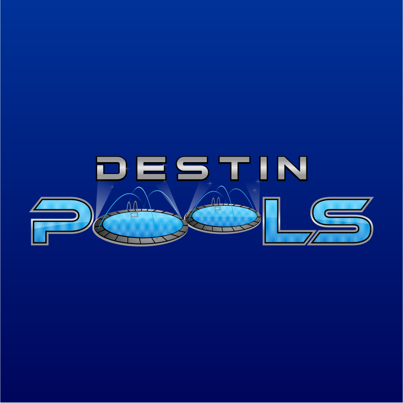 Logo Design by kotakdesign - Entry No. 25 in the Logo Design Contest Fun Logo Design for Destin Pools.