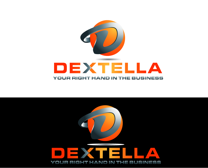 Logo Design by Private User - Entry No. 64 in the Logo Design Contest Unique Logo Design Wanted for Dextella s.r.o..
