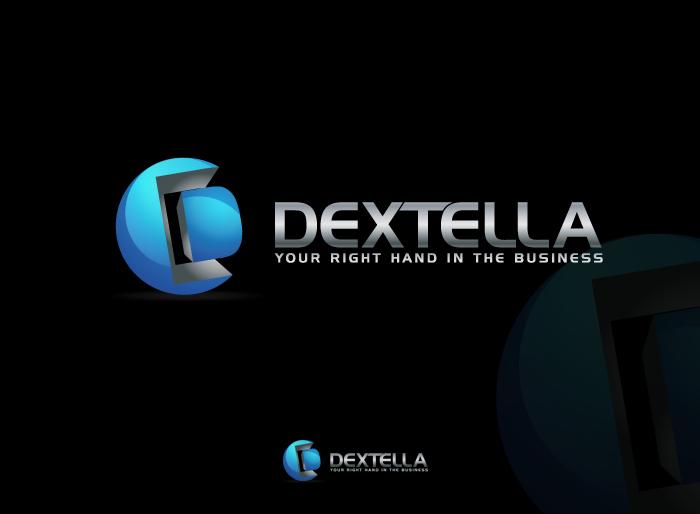 Logo Design by Jan Chua - Entry No. 68 in the Logo Design Contest Unique Logo Design Wanted for Dextella s.r.o..