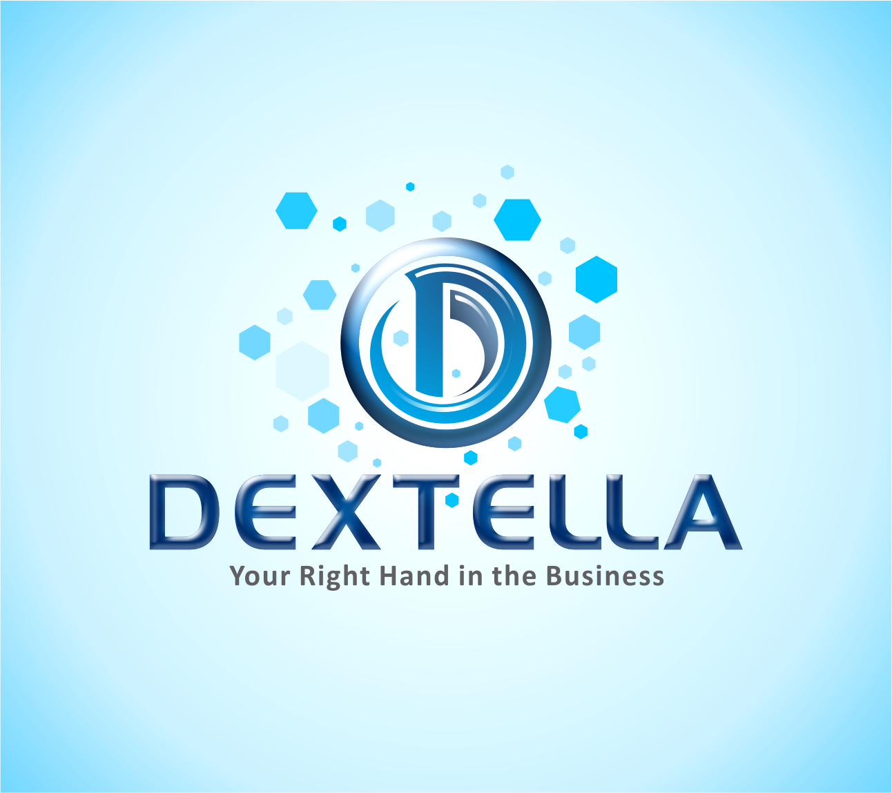 Logo Design by Armada Jamaluddin - Entry No. 69 in the Logo Design Contest Unique Logo Design Wanted for Dextella s.r.o..
