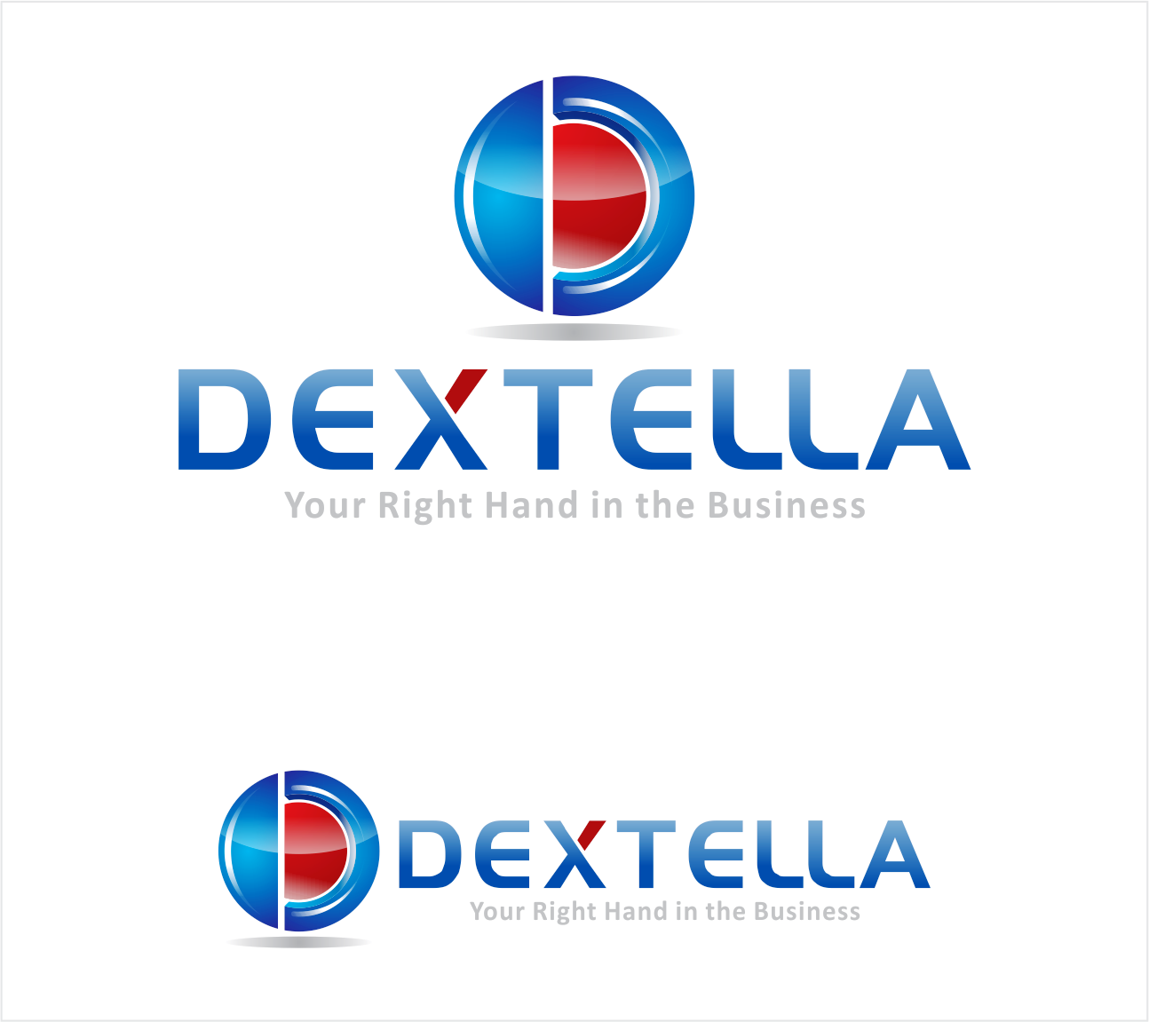 Logo Design by Armada Jamaluddin - Entry No. 70 in the Logo Design Contest Unique Logo Design Wanted for Dextella s.r.o..