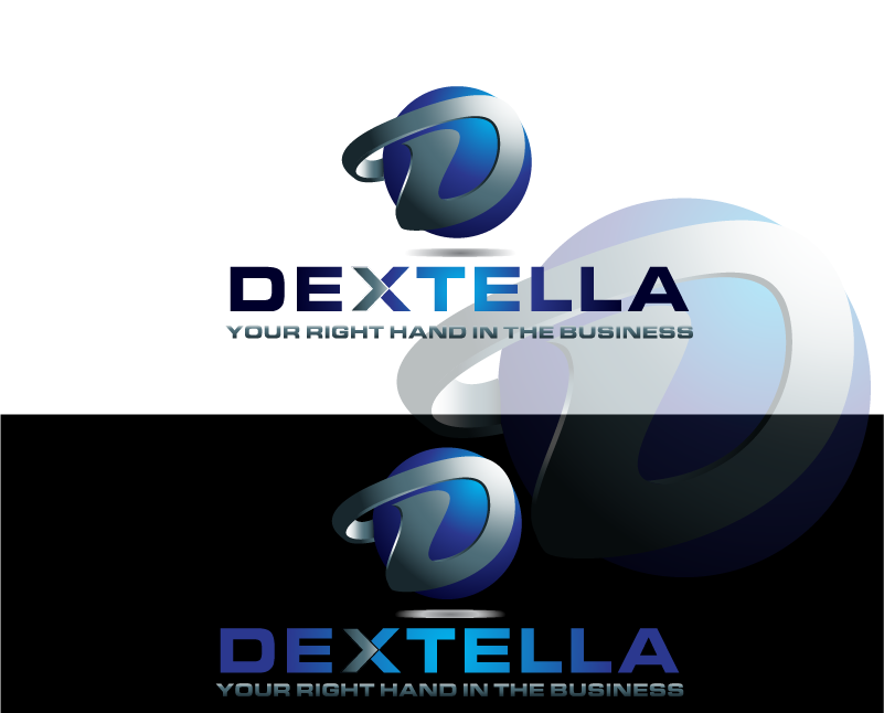 Logo Design by Private User - Entry No. 72 in the Logo Design Contest Unique Logo Design Wanted for Dextella s.r.o..