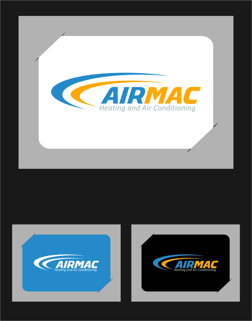 Logo Design by Ngepet_art - Entry No. 98 in the Logo Design Contest Unique Logo Design Wanted for Air Mac.