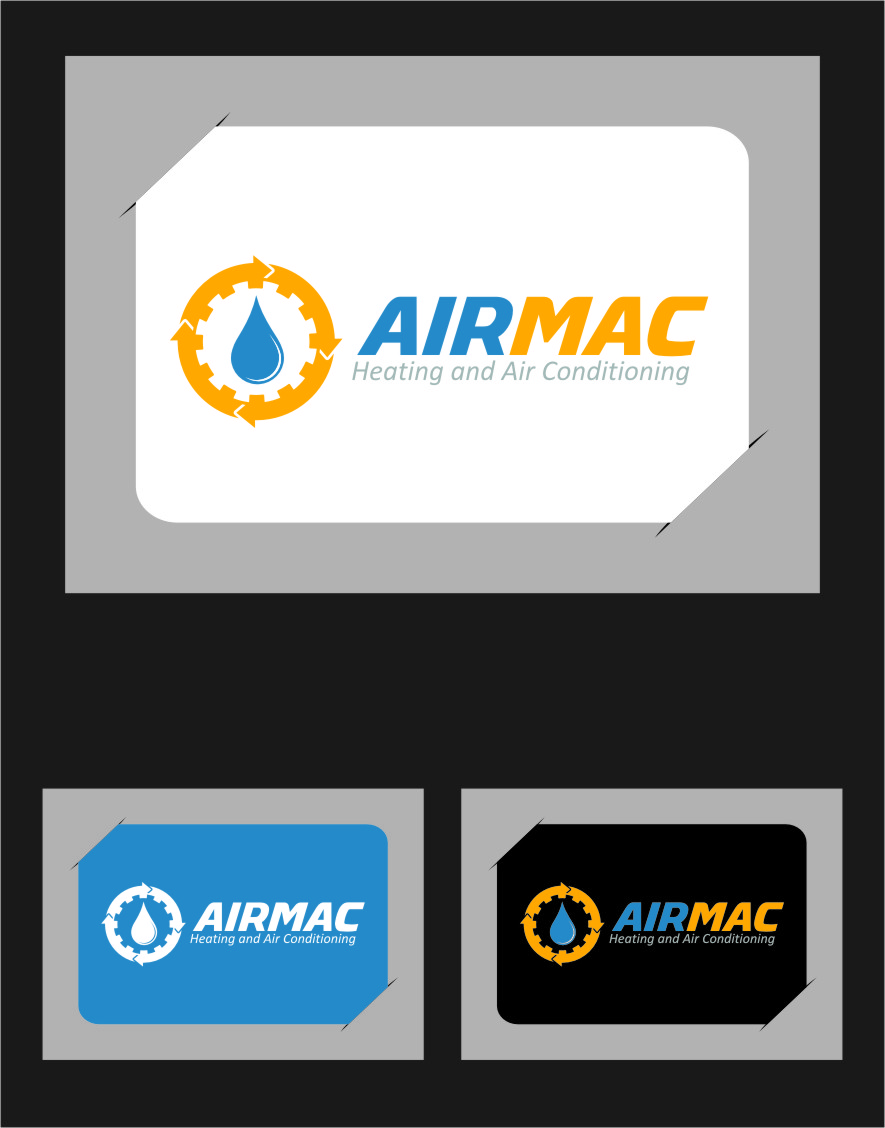 Logo Design by Ngepet_art - Entry No. 99 in the Logo Design Contest Unique Logo Design Wanted for Air Mac.