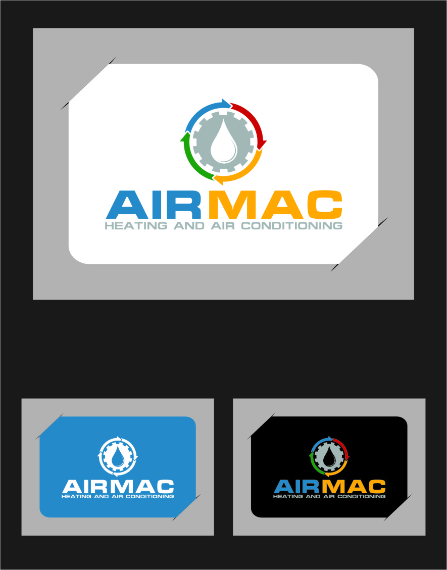Logo Design by Ngepet_art - Entry No. 101 in the Logo Design Contest Unique Logo Design Wanted for Air Mac.